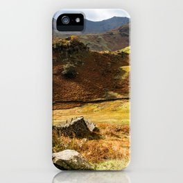 Castle Howe landscape iPhone Case