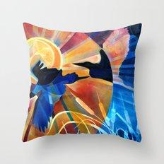 Fleeting Light Throw Pillow