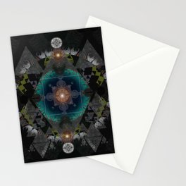 Cosmic Eye of Self Mandala Stationery Cards