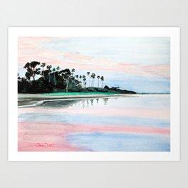 Crystal Water Art Print
