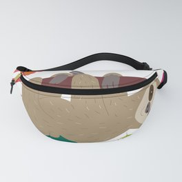 Tropical Sloth Fanny Pack
