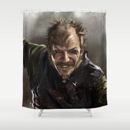 Floki Shower Curtain