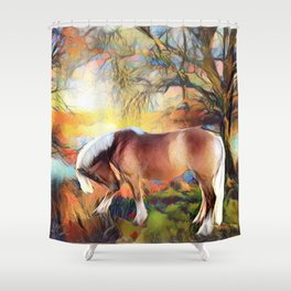 Sunrise Bella Shower Curtain