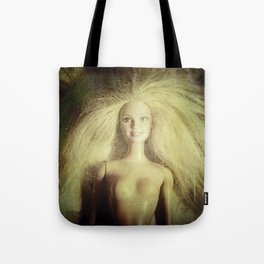 The old doll now is the new doll of a little girl Tote Bag