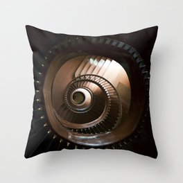 Chocolate stairs Throw Pillow