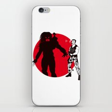 Predator Cartoon Style iPhone & iPod Skin