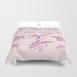 Magical Things With Wings Duvet Cover