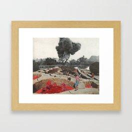 Red Blooded Planet Framed Art Print