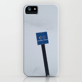 Extreme Terrain iPhone Case