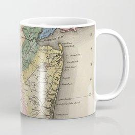 Vintage Map of New Jersey (1823) Coffee Mug