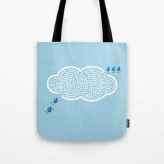 Maze Cloud Tote Bag