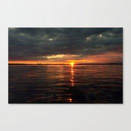 Over the sea level Canvas Print