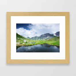 Greina valley Framed Art Print