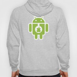 Android eats Apple Hoody