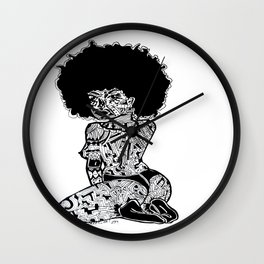 a-MAZ-Ingly imperfect Wall Clock