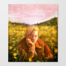 The Boy of the Flowers Canvas Print
