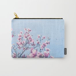 She Bloomed Everywhere She Went Carry-All Pouch