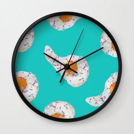 SunnySprinkles Aqua Wall Clock