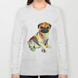 Molly Mops Pug Long Sleeve T-shirt