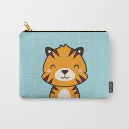 Kawaii Cute Tiger Carry-All Pouch