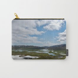Norway - Clouds and Lakes Carry-All Pouch