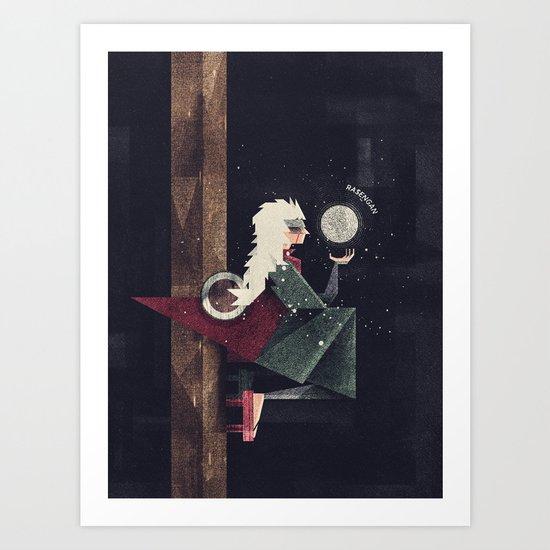 Ero Sennin Art Print