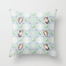 The X Files Repeating Throw Pillow