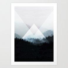 Woods 5Z Art Print