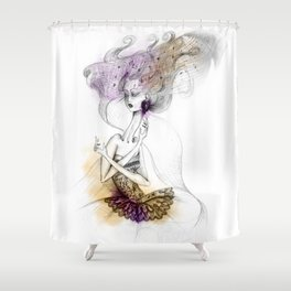 Anna Karenina Shower Curtain