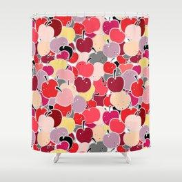 Apple-licious Shower Curtain