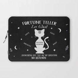 Fortune Teller Psychic Cat Laptop Sleeve