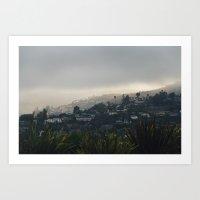 Laguna Beach Hills. Art Print