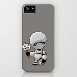 I'm so Happy iPhone Case