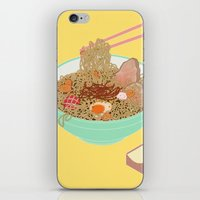 ramen iPhone & iPod Skins featuring Ramen! by Edge