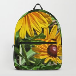Black-eyed Susans and a Busy Bee Backpack