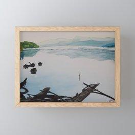 Oakridge Reservoir #1 Framed Mini Art Print