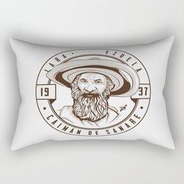Caimán de Sanare - Trinchera Creativa Rectangular Pillow