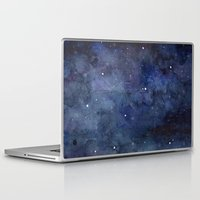 picard Laptop & iPad Skins featuring The Final Frontier  by Olechka