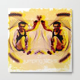 Jumping Jacks Metal Print