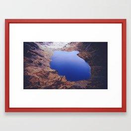 Cader Idris Lake Framed Art Print
