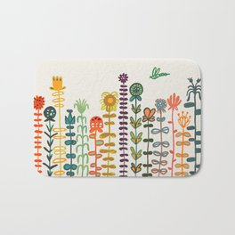 Happy garden Bath Mat