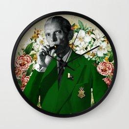The wise & daper altruist, Muhammad Jinnah Wall Clock