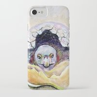 tortoise iPhone & iPod Cases featuring Baby Tortoise by CrismanArt