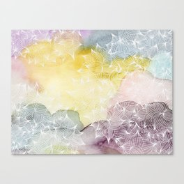 Dreaming in Lotus  Canvas Print