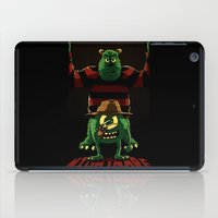 nightmare iPad Cases featuring Nightmare by le.duc