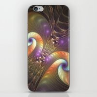 fractal iPhone & iPod Skins featuring Fractal by gabiw Art