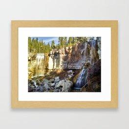 Paulina Falls Framed Art Print