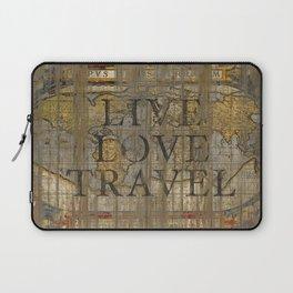 Live Love Travel Laptop Sleeve
