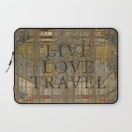 Live Love Travel Laptop Sleeve