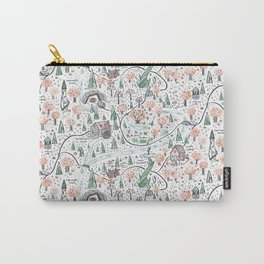Enchanted Forest Map Carry-All Pouch